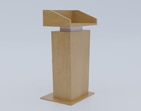 Presidential Pulpit 3D model