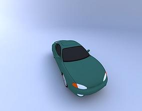 1999 Hyundai Tiburon 3D
