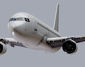 Airbus A320 Airplane 3D