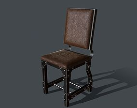 3D asset Industrial Style Chair for PBR Challenge - 2
