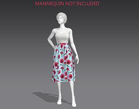 PROM DRESS 3D asset