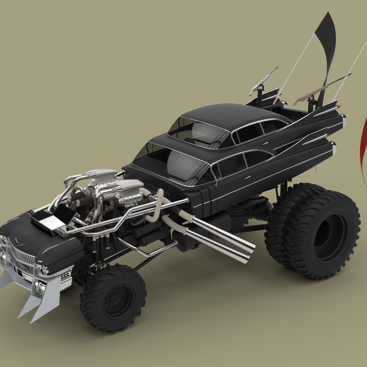 Gigahorse from Mad Max Fury road