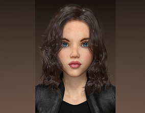 Jona - Female character 3D model