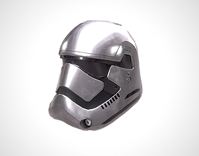 Star Wars Stormtrooper Helmet - Steel 3D asset