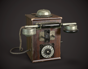 Old Phone 3D asset realtime