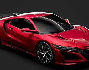 3D model Acura NSX 2020