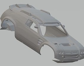 Volkswagen Tuareg Dakar Printable Body Car