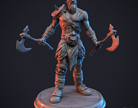 3D print model Barbarian Warrior