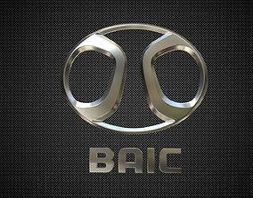 baic logo sumbol 3D model