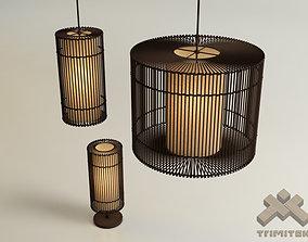 KAI O lamps collection 3D