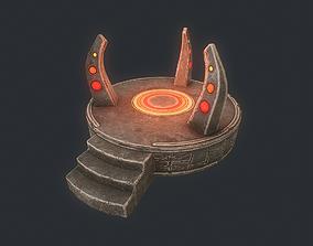 3D asset Altar