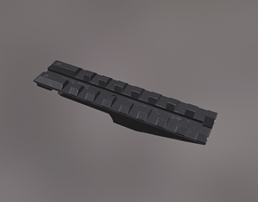 3D model Picatinny on Ironsight