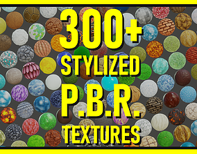 pack 3D Stylized PBR Textures Bundle
