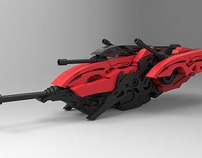 SpaceShip GB-01 3D model