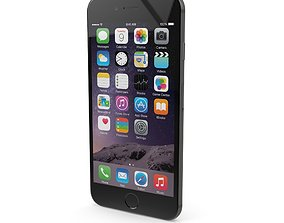 3D model Apple iPhone 6s Space Gray