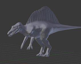 3D rex Jurassic Park III spinosaurus model