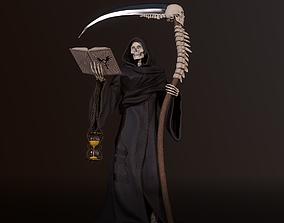 3D model Grim Reaper high poly