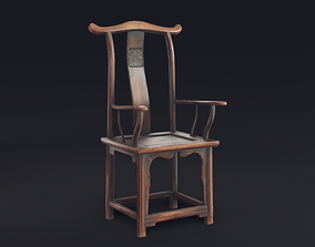 Chinese Chair 3D asset realtime