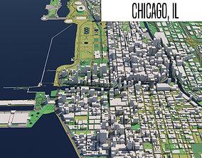3D model Chicago