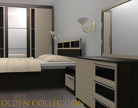3D model realtime Furnitures Golden Collection