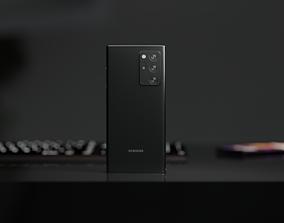 Samsung Galaxy Note 20 ultra electronics 3D