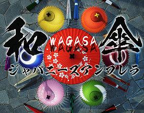 WAGASA -Japanese Umbrella- 3D