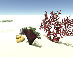 3D model Underwater set