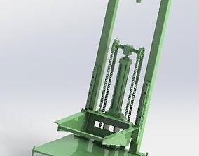 3D Heavy load lifting mechanism