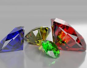 3D model Diamond Shape