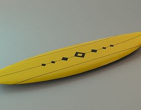 3D model Surf Board