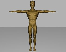 Sculpture Man 3D model
