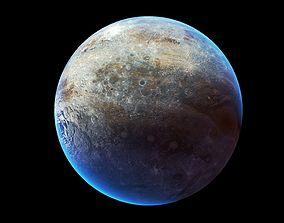 3D model Planet Sci Fi