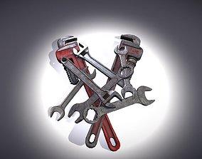 3D model Spanner - Wrench Pack