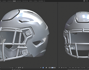 3D print model Football Helmet
