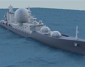 ship Marshal Nedelin class 3D print model
