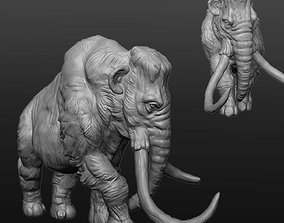 3D model Land of the Giants Mammoth