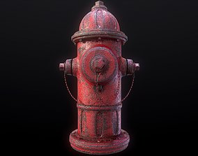 hydrant Fire Hydrant 3D asset game-ready
