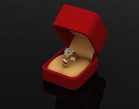 3D print model puma ring