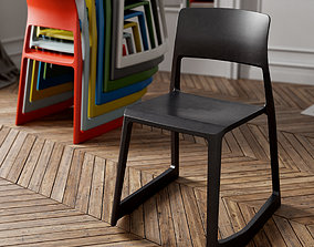 3D model Vitra Tip Ton chair