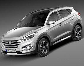 3D Hyundai Tucson EU-Version 2016