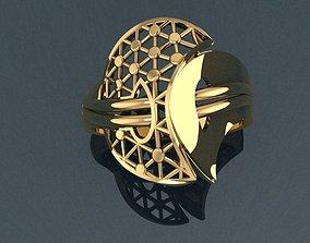 3D print model gem Ring 16