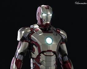 Iron man Mark 42 3d model VR / AR ready