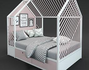 bed kids 3 3D model