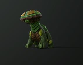 low level Forest Creature 3D asset