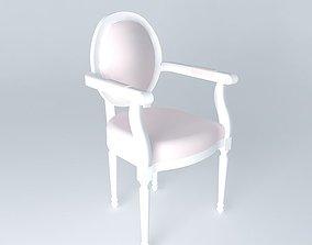 3D LOUIS chair POETRY