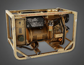 3D asset MLT - Military Mini Gas Generator - PBR Game