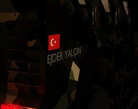 3D model Armored car turkish ejder yalcin
