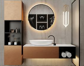 paper Bathroom 3D