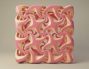 3D decor cube