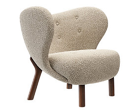 Little Petra Armchair by and tradition 3D model